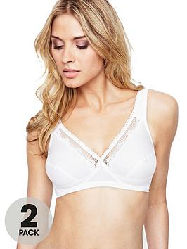 playtex-cross-your-heart-soft-bras-2-pack