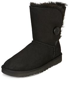 ugg-australia-bailey-button-boots-black