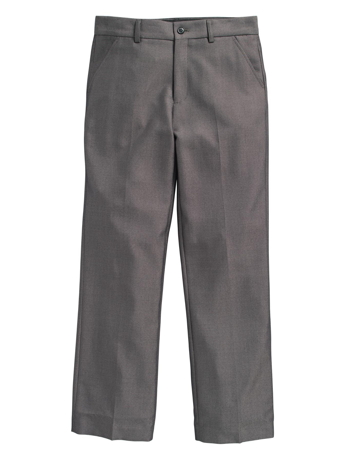 Boys Smart Pleat Front Suit Trousers, Navy,Black,Grey