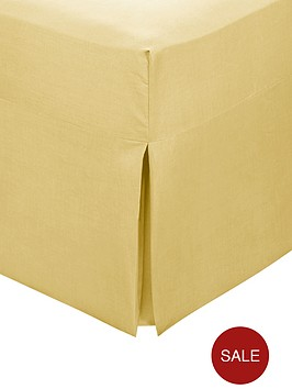 non-iron-percale-box-pleat-valance-sheet
