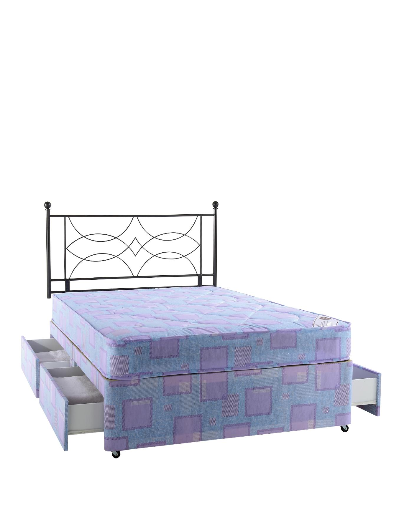 Jenson Divan Bed - Medium at Littlewoods