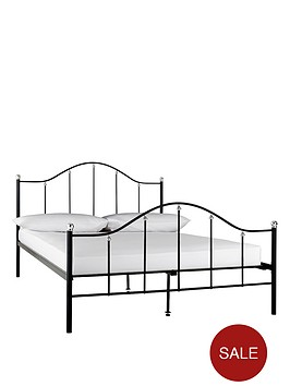 harley-metal-bed-frame-with-optional-mattress