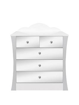 Ladybird Rebecca Kids 3 + 2 Chest of Drawers