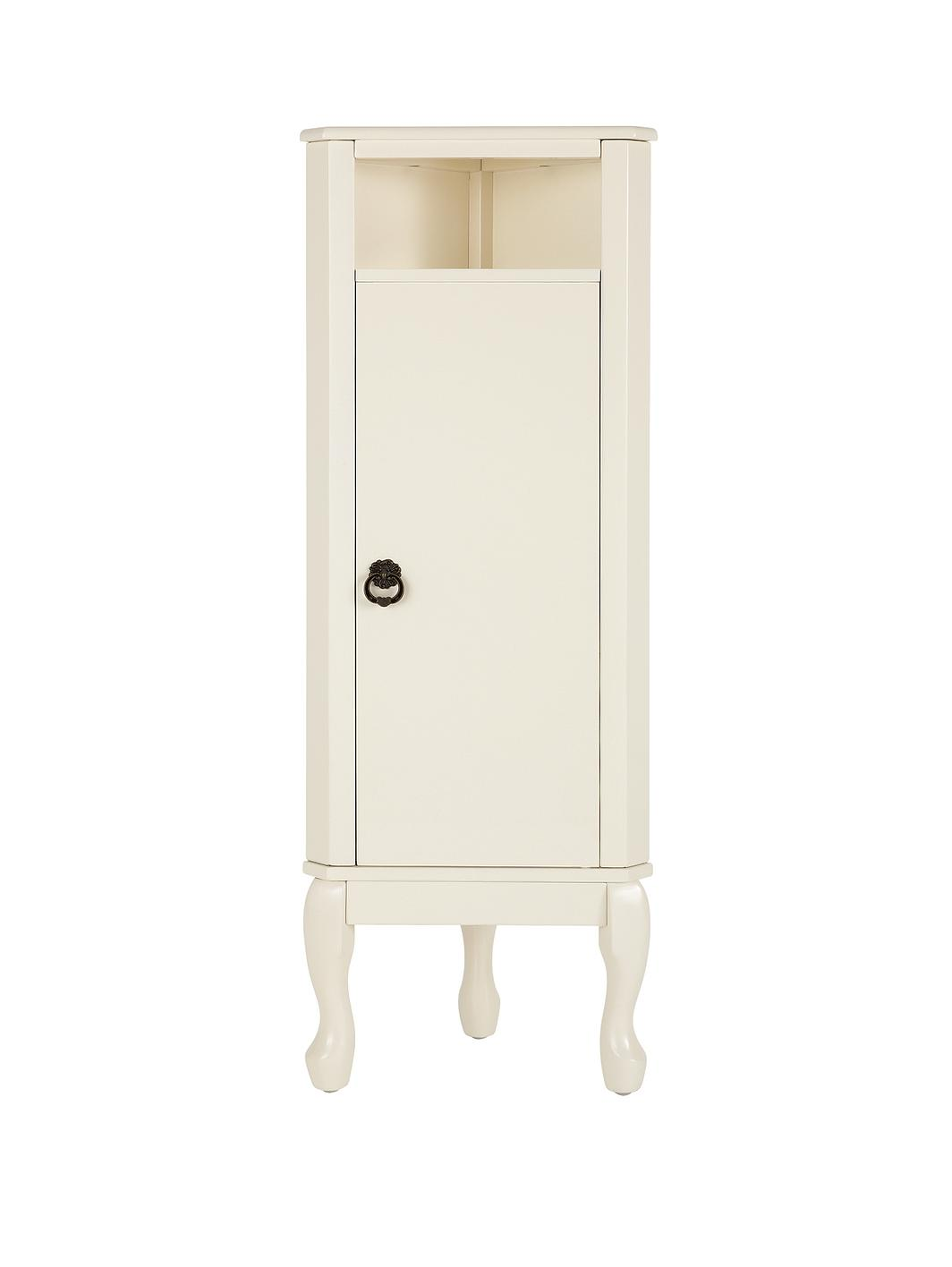 elysee corner bathroom floor cabinet unit
