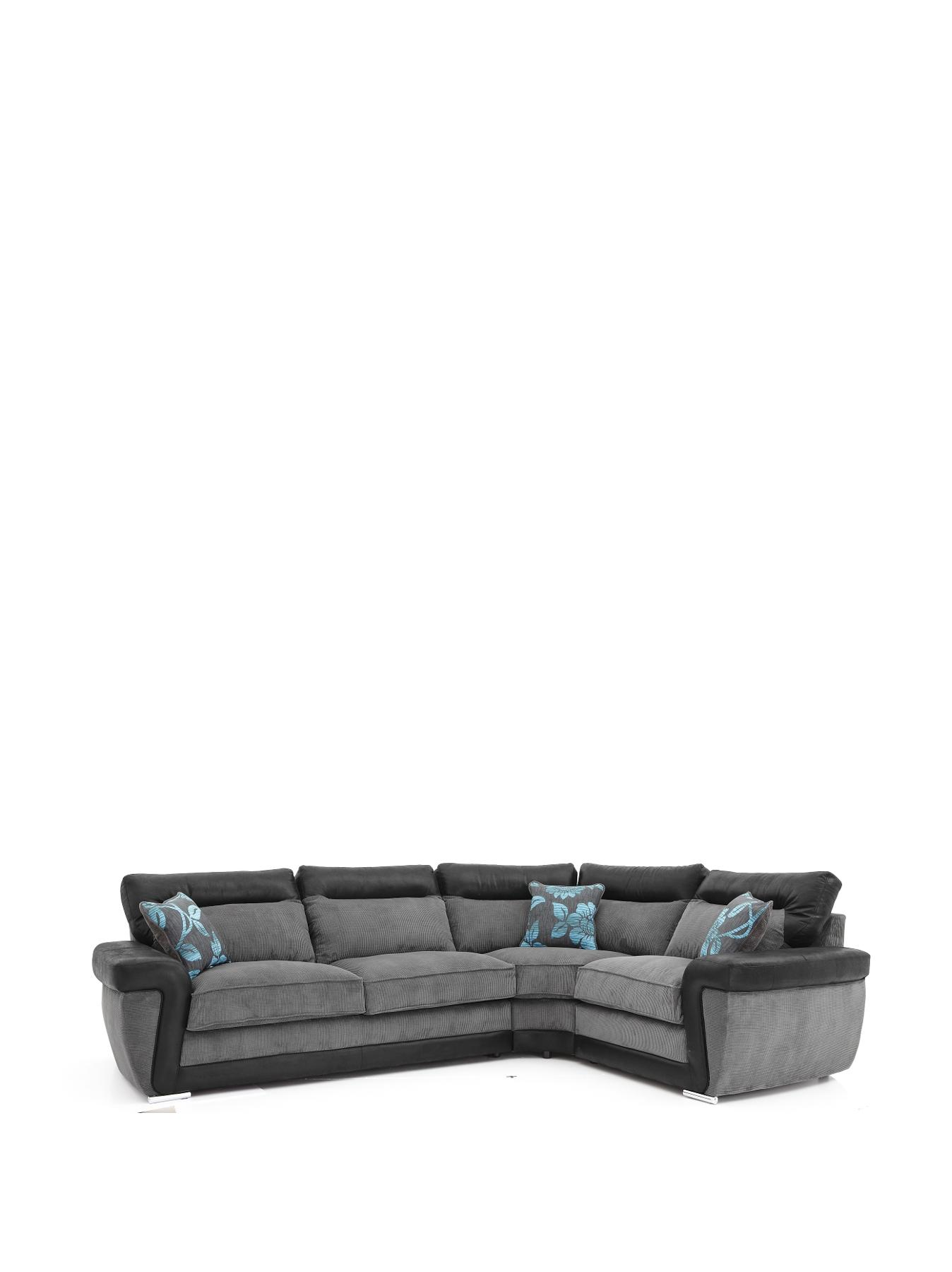 Tamsin Right Hand Corner Group Sofa BlackChocolate