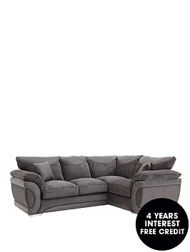 maze-fabric-and-faux-leather-right-hand-sofa-bed-corner-group