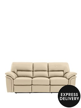 richmond-3-seater-leather-recliner-sofa