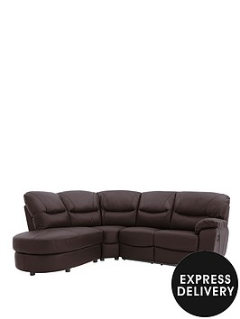 oakland-left-hand-reclining-leather-corner-group