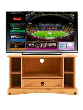 Corona Corner TV Unit  fits up to 42 inch TV