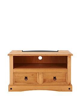 Corona Solid Pine TV Unit  fits up to 42 inch TV
