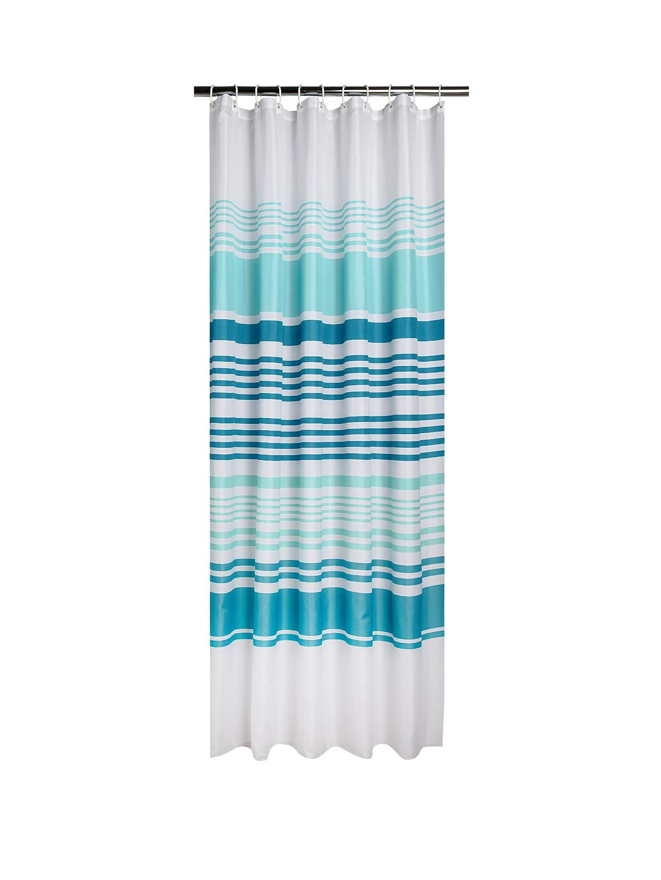 Striped Shower Curtain at Littlewoods
