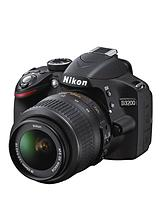 D3200 24.2 Megapixel Digital SLR Camera with 18-55mm Single Lens Kit