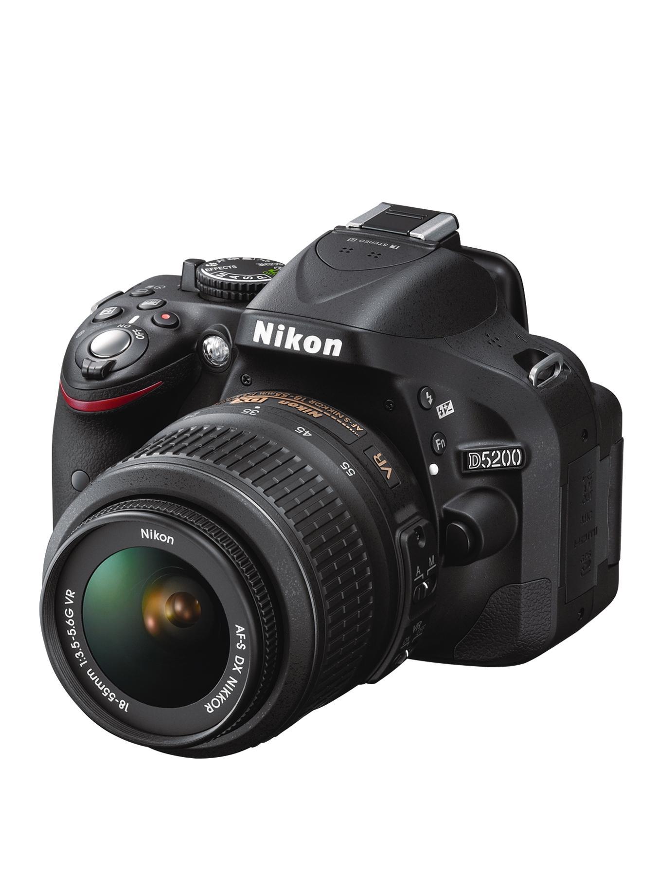 D5200 24.1 Megapixel Digital SLR Camera 18-55mm Lens