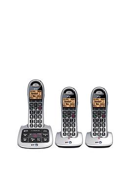 bt-4500-trio-cordless-telephone-with-answering-machine