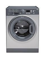 Extra WMXTF842G 1400 Spin, 8kg Load Washing Machine - Graphite