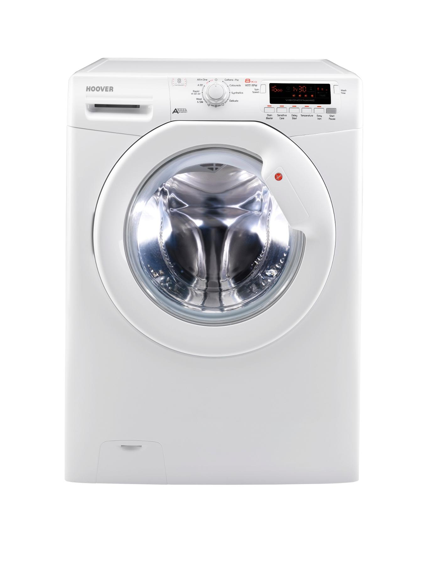 DYN8144DG8 1400 Spin, 8kg Load Washing Machine - White