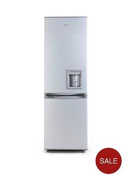swan-sr5330s-55cm-fridge-freezer-next-day-delivery-silver