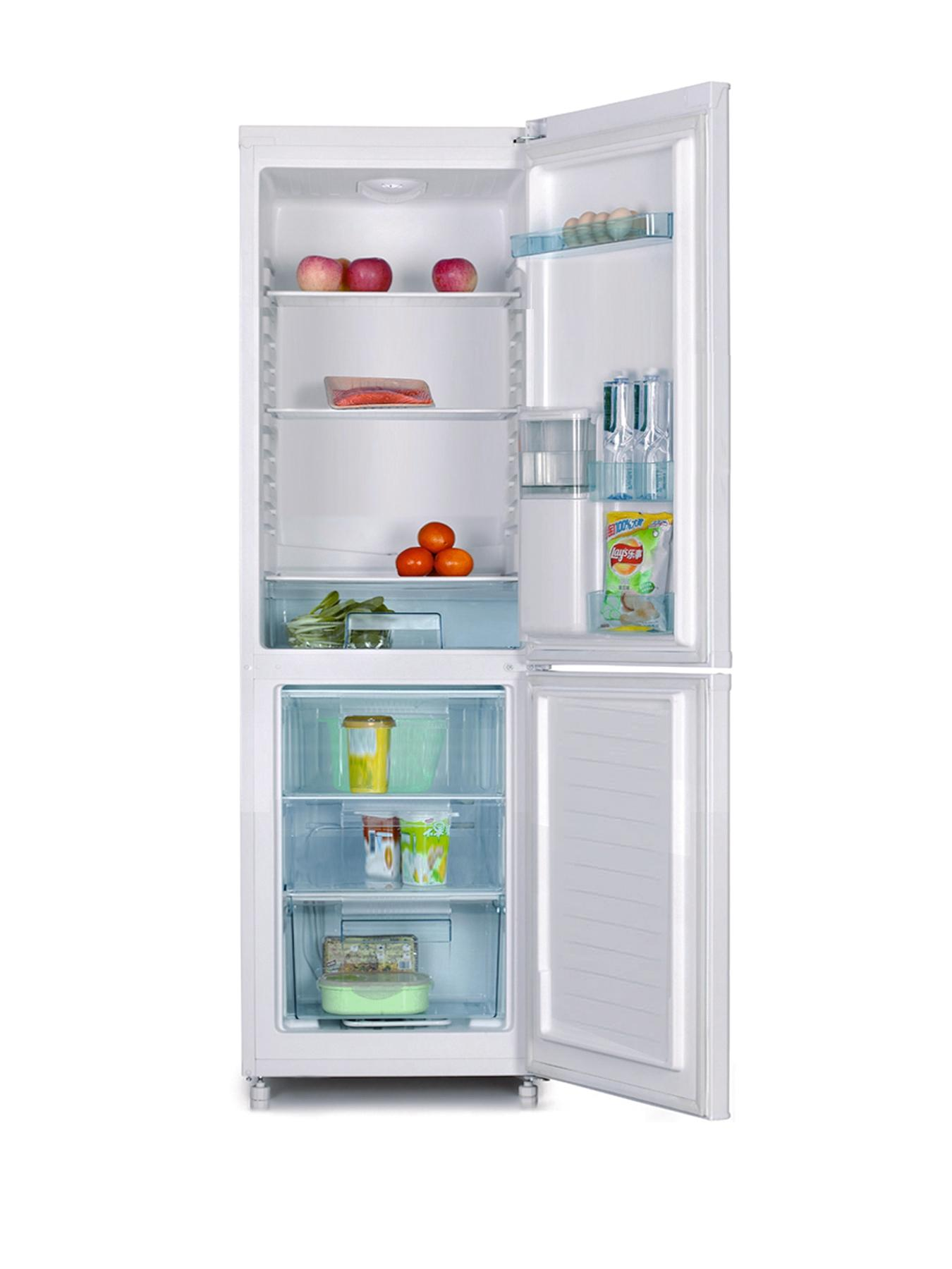 SR5330B 55cm Fridge Freezer with Chilled Water Dispenser - Black