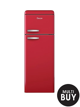 swan-sr11010r-55cm-retro-top-mount-fridge-freezer-red