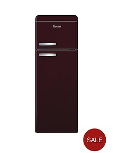 swan-sr11010wr-55cm-retro-top-mount-fridge-freezer-wine