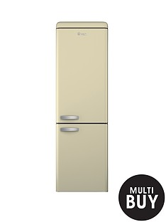 swan-sr11020c-60cm-retro-fridge-freezer-cream