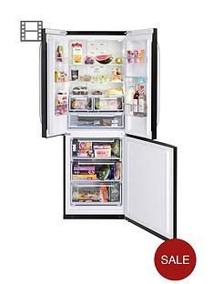 hotpoint-ffu3dk-quadrio-70cm-frost-free-fridge-freezer-black