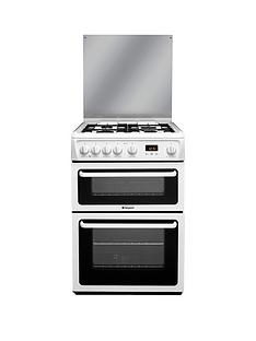 hotpoint-hagl60pl-60cm-double-oven-gas-cooker-white