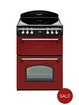 leisure-grb6cvr-60cm-double-oven-electric-cooker-red