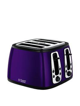 russell-hobbs-19164-4-slice-heritage-toaster-metallic-purple
