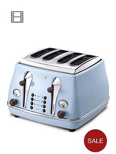 delonghi-ctov4003az-vintage-icona-4-slice-toaster-blue