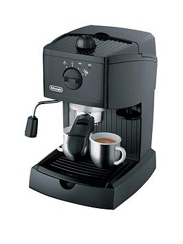 delonghi ec146b traditional pump espresso machine black - Delonghi Espresso Machine