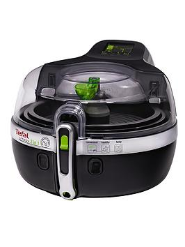 Tefal Yv9601 1.5Kg 2In1 Actifry Low Fat Healthy Fryer  Black