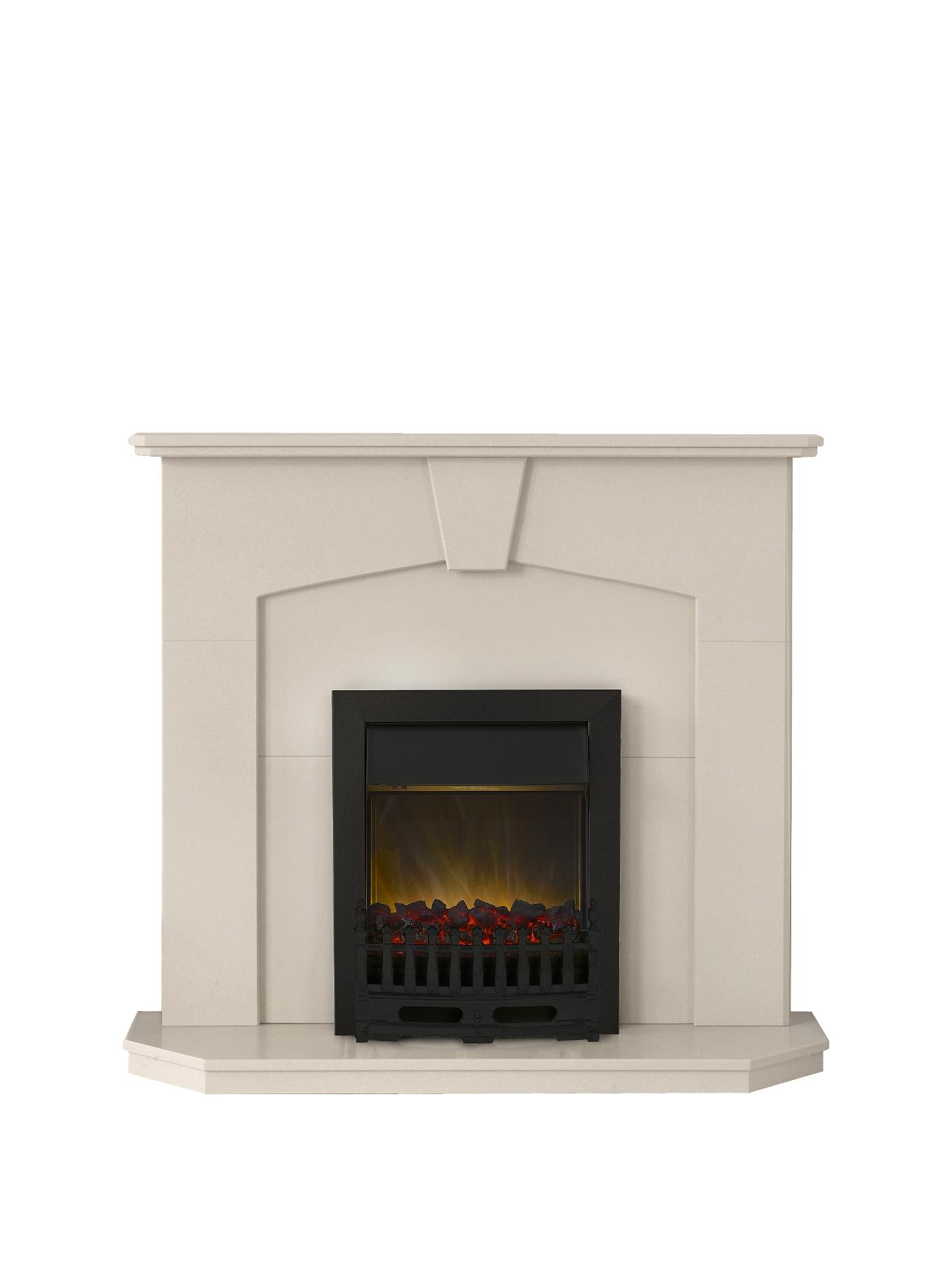 Abbey Electric Fire Suite.