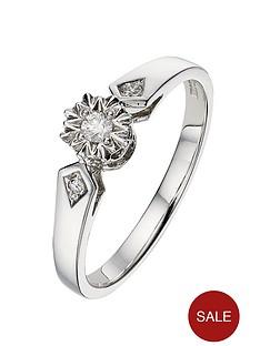 love-diamond-9-carat-white-gold-7pt-illusion-solitaire-ring