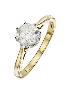 love-diamond-18-carat-yellow-gold-solitaire-ring