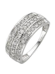 9-carat-white-gold-50pt-diamond-set-3-band-ring