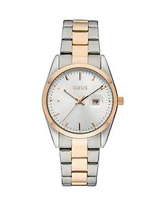 oasis-ladies-two-tone-sports-watch