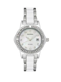 sekonda-ladies-white-and-stainless-steel-bracelet-watch
