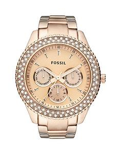 fossil-stella-rose-gold-ladies-watch