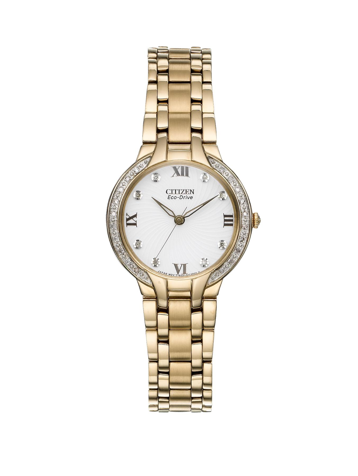 Eco-Drive Bella Diamond Bracelet Ladies Watch