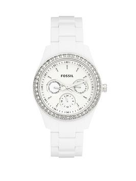 fossil-ladies-white-bracelet-watch