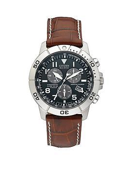 citizen-eco-drive-perpetual-calendar-titanium-alarm-chronograph-strap-mens-watch