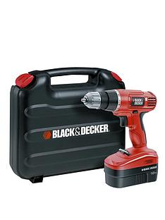 black-decker-epc18cak-gb-18v-cordless-drilldriver-with-kitbox-free-prize-draw-entry