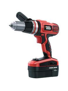 black-decker-hp188f4bk-gb-18-volt-cordless-hammer-drill