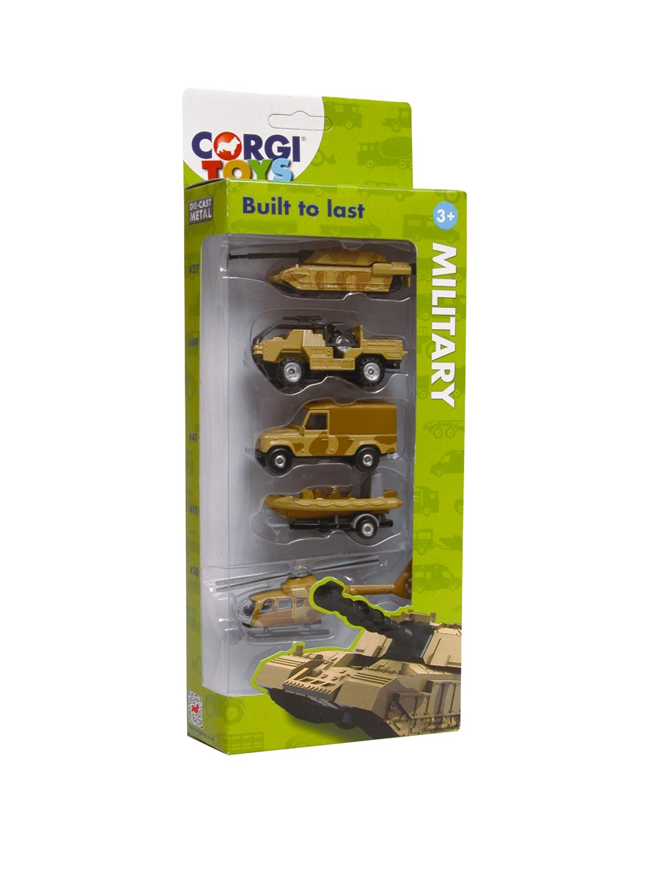 Die-cast (5 pack) - Military