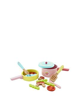 early-learning-centre-wooden-pot-and-pan-set