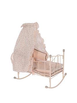 mamas-papas-zeddy-and-parsnip-dolls-rocking-crib