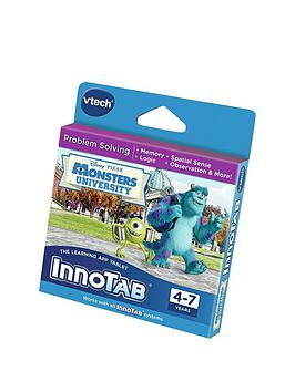 Vtech Innotab Learning Cartridge  Monsters University
