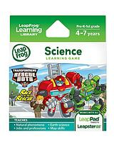 Explorer Learning Game: Transformers Rescue Bots