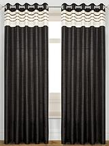 Carnival Faux Silk Lined Eyelet Curtains